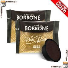 400 Capsule Caffè Borbone Don Carlo Miscela Nera compatibili a Modo Mio gratis