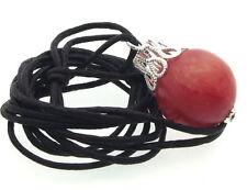 Collane e pendagli di bigiotteria in pietra rossa