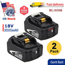 Replacement for Makita BL1830B 18V LXT Lithium-Ion 3.0Ah battery BL1860B BL1850B