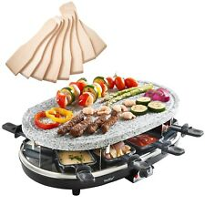 VonShef Raclette Grill aus Naturstein für 8 Personen