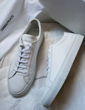 Common Projects Achilles Low White Leather Sneakers (42 EU / 9 US)