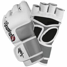 Hayabusa Tokushu 4oz Leather MMA Gloves Sparring Mixed Martial Arts