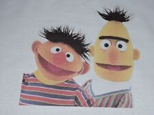 1 Bert and Ernie Quilt Square Sew Sewing Block Fabric Material Make Kids Blanket