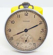 Molnija CHCHZ Pocket watch, caliber 3601 Think Molnija USSR Rare watch