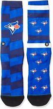 Stance Men's L Baseball Toronto Blue Jays MLB Crew Socks 9-12 558 Combed Cotton