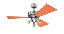 "Westinghouse Design Ceiling Fan Jasper Red 105 cm / 42"" with lighting"