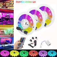 5m-15m LED Strip Streifen RGB 300LEDS Lichtband 3528 SMD Band Lichterkette Neu