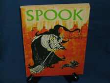 VINTAGE SCHOLASTIC SPOOK  TX 1001 JANE LITTLE WITCH DOG Halloween cat on sale