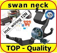 Towbar & Electrics 7pin 12N Citroen C-Crosser 2007 - onwards / swan neck Tow Bar