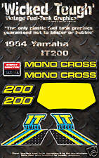YAMAHA 1984 IT200 WICKED TOUGH DECAL GRAPHIC KIT