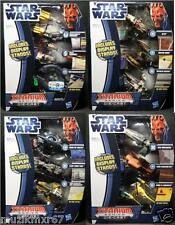 STAR WARS TRU EXCLUSIVE Titanium Series DIE-CAST Vehicles SETS (4) - HASBRO