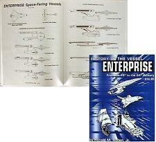 History Of Vessel Enterprise- Star Trek Reference Book
