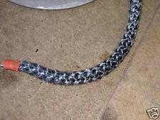 Stove Rope Door Seal BLACK 12mm diameter 3m length