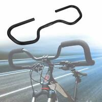 Adjustable Aluminum Alloy Bike Crooked Butterfly Handlebar Bicycle Accessory