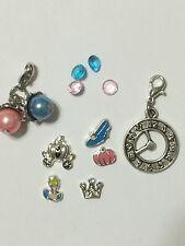 Cinderella Floating Locket Charms For Memory Locket Or Living Locket