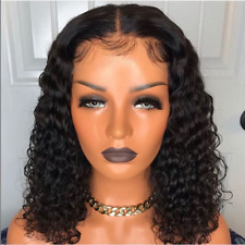 Ebay Wigs Pre-Plucked Brazilian Human Hair Wigs Curly Lace Front Wig Baby Hair