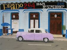 "Cuba Oil Painting,Havana 2017 (18"" x 24"")"