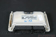 > audi a8 4e w12 6.0 Moteur dispositif de commande à Control Unit Engine 4e1910018l <