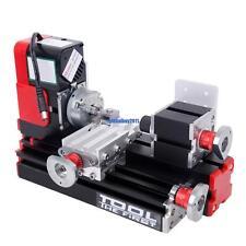 Mini Metal Motorized Lathe Machine Power Tool DIY Model Making Woodworking