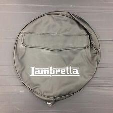 """Spare wheel cover 10"""" with Lambretta logo slate grey for Lambretta"""