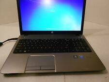 "HP 450 G1 15.6"" CORE i3-4000@2.4GHz 4GEN 4GB RAM 500GB RAM WINDOWS 7 OFFICE 13"