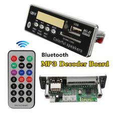 12V Car Bluetooth Wireless MP3 Wma Decoder Board Audio Module USB SD TF FM