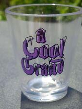 A COOL GRAND MARNIER PLASTIC SHOT GLASS CUP VINTAGE SOUVENIR