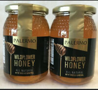 Palermo Wildflower Honey Lot of 2-18 oz Best By: 5/8/22 ..