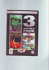 KIDS PACK VOL 2 - 3 PC GAMES - LITIL DIVIL, GHOST MASTER & DWEEBS - FAST POST