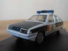 Antigua miniatura 1:43 Scale Carr PR022 Citroën BX Policía Nacional.