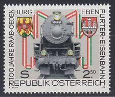 Österreich Austria 1979 ** Mi.1627 Eisenbahn Railway Train Locomotive