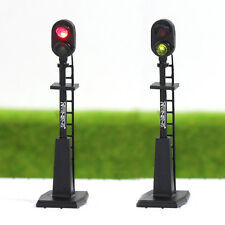 JTD874RG 5PCS HO scale LEDs made Railroad Signals for Railway signal 2 Aspects