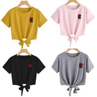 Women Summer Harajuku Kawaii T-shirt Fashion Loose Short Sleeve Tops Blouse