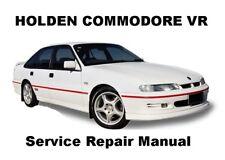 COMMODORE VR CALAIS BERLINA Auto Owners Workshop Service Repair Manual PDF CD-R