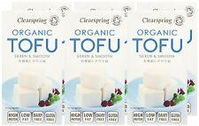 Clearspring Organic ambiante tofu 300 g (Pack de 6)