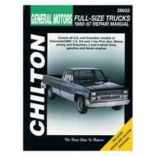 For Chevy V20 Suburban 87 Chilton General Motors Full-Size Trucks Repair Manual