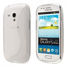 Samsung Galaxy S3 mini i8190 i8200 Silikon TPU case schutz hülle handy tasche