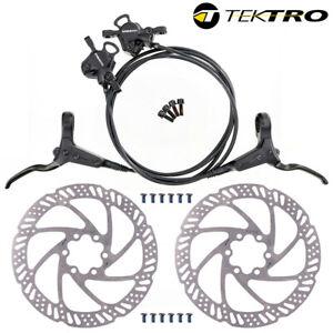 TEKTRO HD-M275 Hydraulic Disc Brake set Front / Rear with rotor 160/180/203