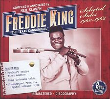 FREDDIE KING - SELECTED SIDES 1960-62 2 CD NEU