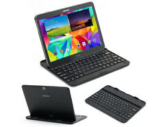 Mobile Wireless Bluetooth Keyboard Stand Case For Samsung Galaxy Tab 4 10.1""