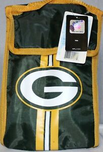 NEW w/ Tags Green Bay Packers Insulated Lunch Bag Sack Cooler NFL Football
