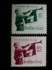 D.R., Mi. 584/85 y, WELTTREFFEN DER JUGEND, postfrisch,  KW 50,-
