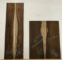 GUITAR BACK &  SIDE DREADNOUGHT COCOBOLO ROSEWOOD SET #4 LUTHIER TONEWOOD