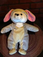 "Vintage Disney Plush Bear in Thumper Costume - Bambi - 12"""