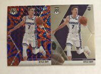 Kyle Guy 2019-20 Panini Mosaic SP Reactive Blue Prizm & Base Rookie RC 224 Kings