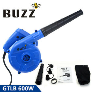 Leaf Blower 600W Air Electric Handheld Vacuum Cleaning Tool For Car Home Garden