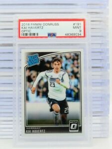 2018 Donruss Optic Kai Havertz Rated Rookie #191 PSA 9 MINT Germany (34) R44