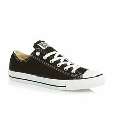 Converse All Star ox Canvas Womens Trainers Shoes Black White Size 6 UK / 39 EU