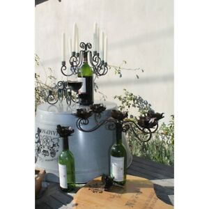 Elk Lighting Wine Bottle Candelabra Rose 4-Arm, Antique Finish - TAP006-S2
