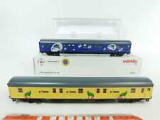 BC674-1# Märklin H0/AC 41574 Bahnpostwagen-Set bar Car Svg Nem Kk, Nip